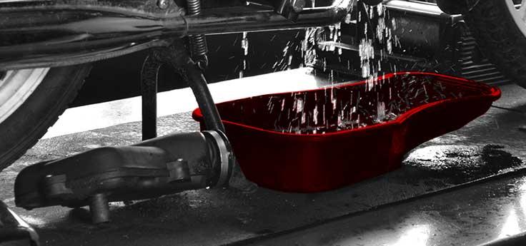Olie en benzine gereedschap