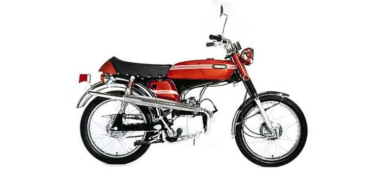 Yamaha FS1 motorblokdelen