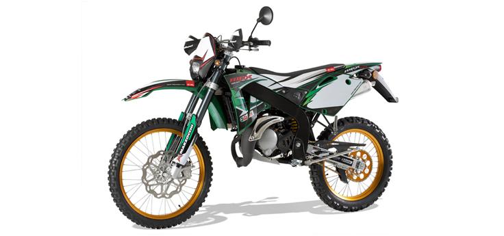 Onderdelen Rieju MRX pro r-groen 2008 2-Takt