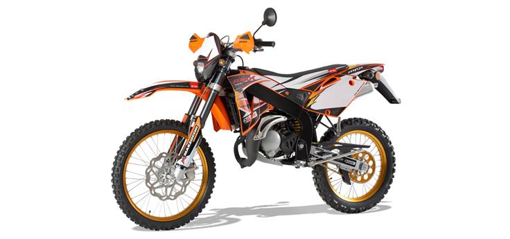 Onderdelen Rieju MRX pro oranje 2008 2-Takt