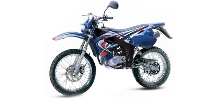 Onderdelen Rieju MRX blauw 2004 2-Takt