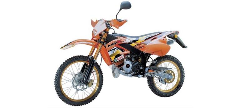 Onderdelen Rieju MRX oranje 2004 2-Takt