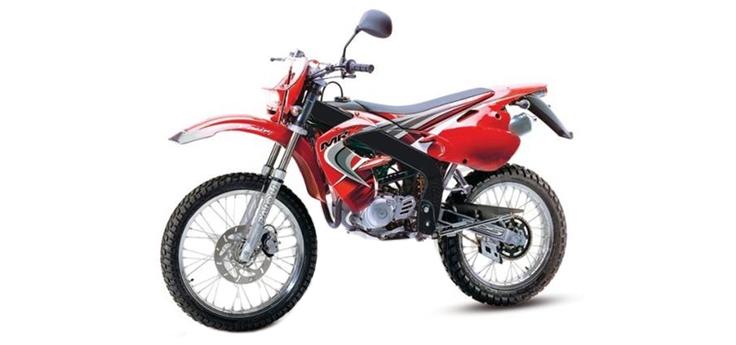 Onderdelen Rieju MRX rood 2004 2-Takt