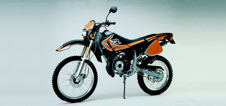 Onderdelen Rieju RR sport zwart- oranje 2002 2-Takt