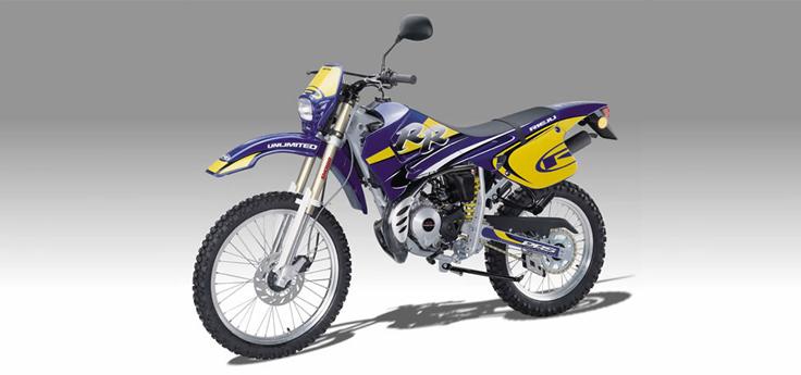 Onderdelen Rieju RR blauw 2002 2-Takt