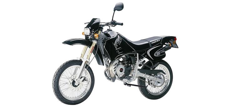 Onderdelen Rieju RR zwart 2001 2-Takt