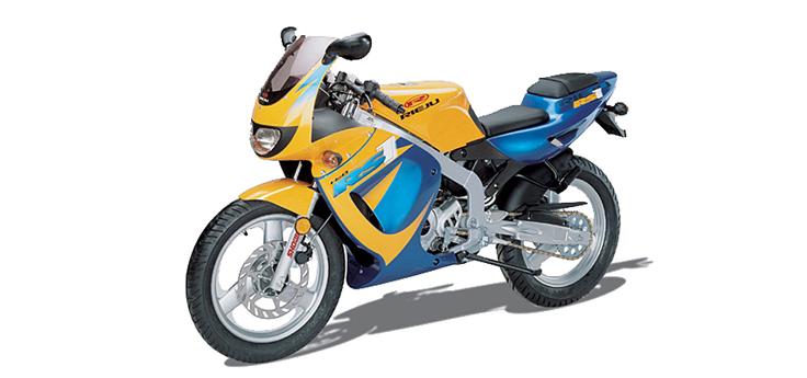 Onderdelen Rieju Rs1 geel- blauw 2001 2-Takt