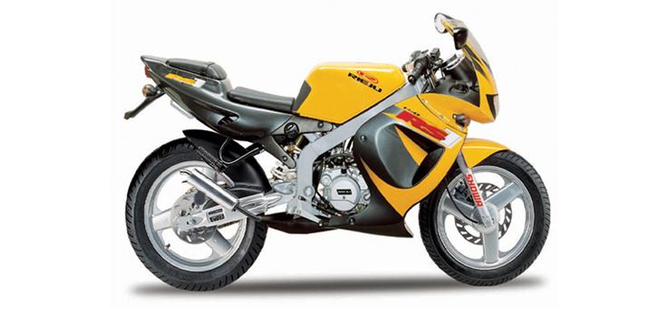Onderdelen Rieju Rs1 geel- grijs 2001 2-Takt