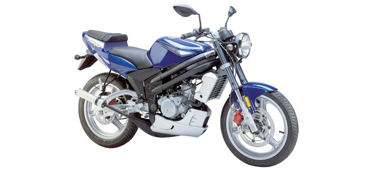 Onderdelen Rieju Rs2 Naked blauw 2005 2-takt