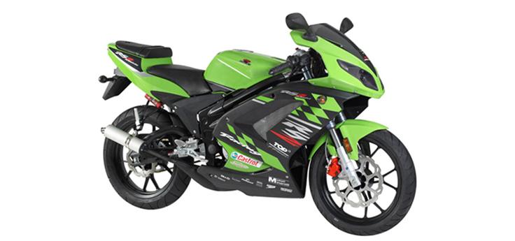 Onderdelen Rieju Rs2 pro groen 2009 2-takt
