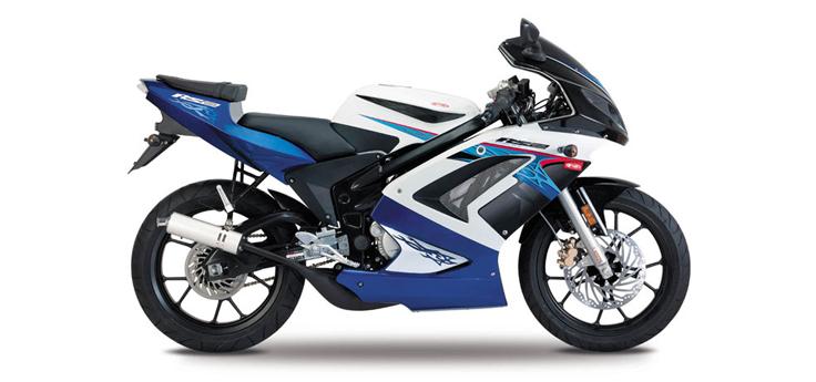 Onderdelen Rieju Rs2 racing blauw 2010 2-takt
