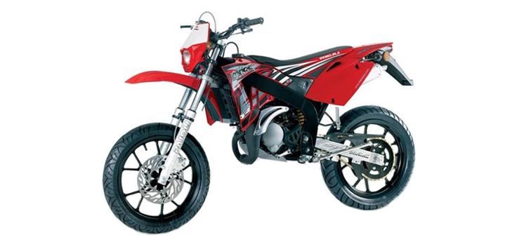 Onderdelen Rieju SMX p-up rood 2008 2-takt