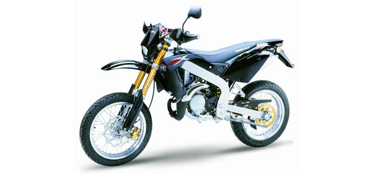 Onderdelen Rieju SMX pro zwart 2004 2-takt