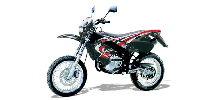Onderdelen Rieju SMX zwart 2004 2-takt