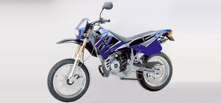 Onderdelen Rieju Spike blauw 2004 2-takt