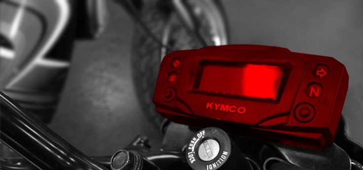 Kilometerteller / cockpit universeel / Koso