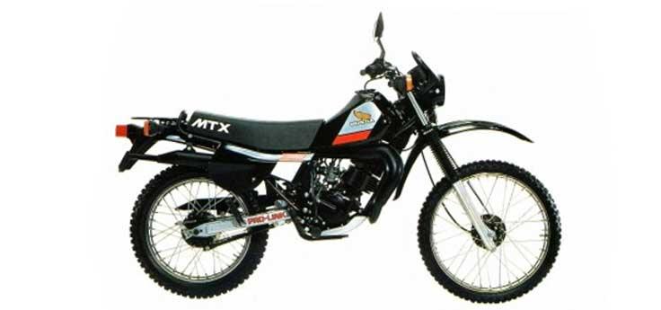 Honda MTX uitlaten