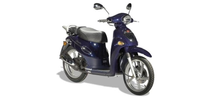 Onderdelen Kymco People 2-takt 50cc blauw