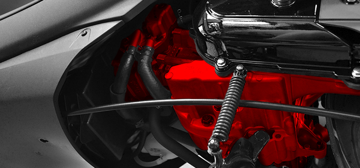 Motorblok / versnellingsbak
