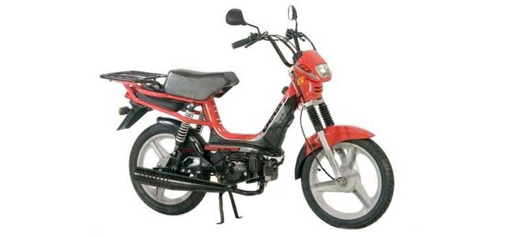 Onderdelen Beta Cyclo 25km Delivery rood 2007 2-takt 25