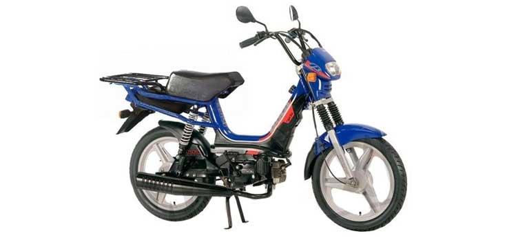 Onderdelen Beta Cyclo Delivery 45km blauw 2007 2-takt