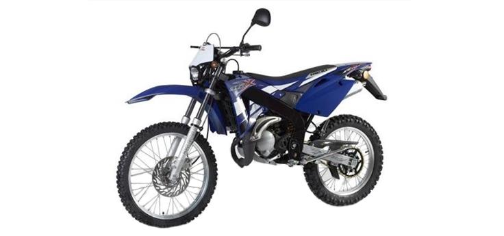 Onderdelen Rieju MRX blauw 2006 2-Takt