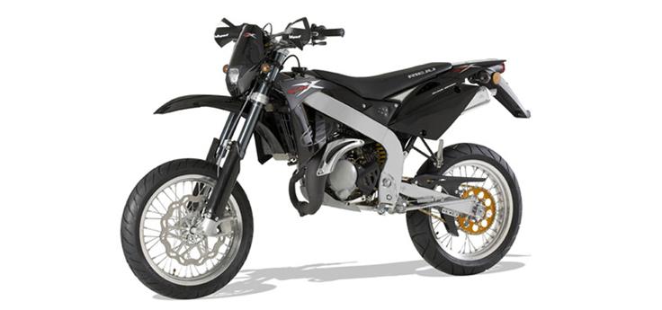 Onderdelen Rieju SMX Pro zwart 2008 2-takt