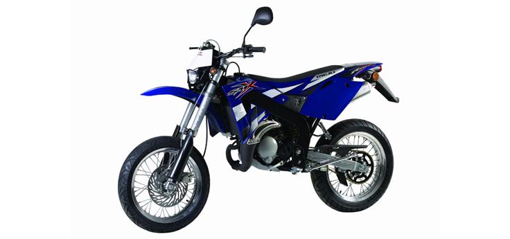 Onderdelen Rieju SMX blauw 2006 2-takt