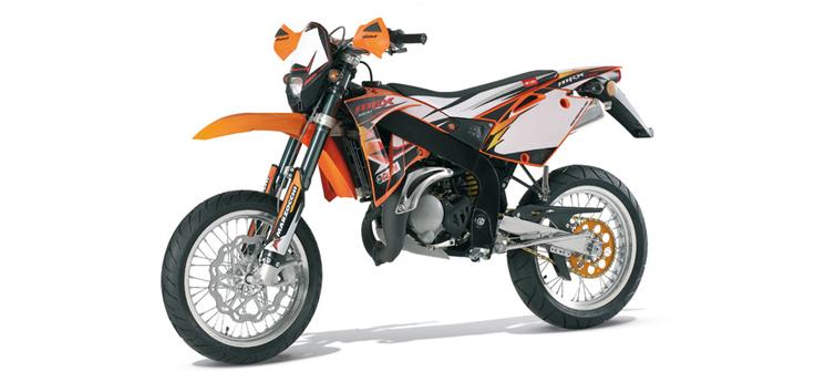 Onderdelen Rieju SMX pro oranje 2008 2-takt