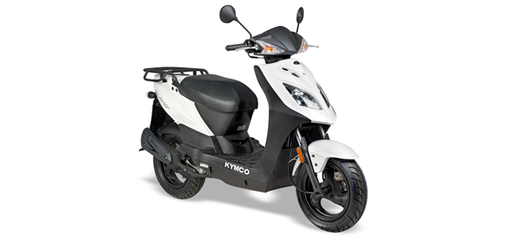 Onderdelen Kymco Agility Delivery 4-takt wit