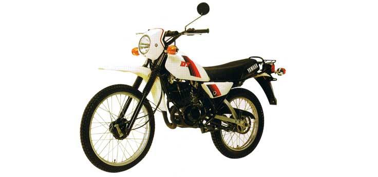 Yamaha DT, MX banden