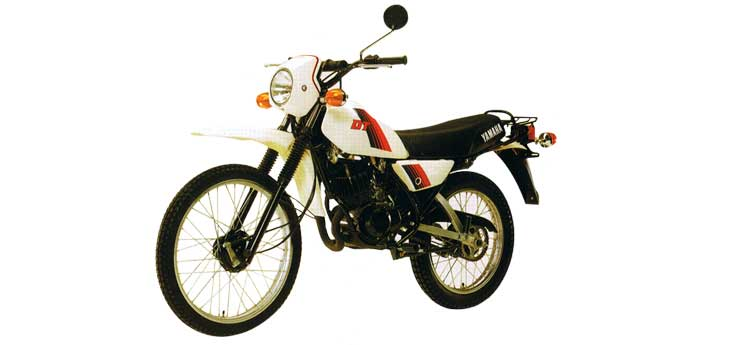 Yamaha DT, MX uitlaten