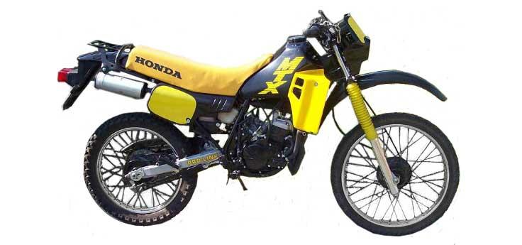 Honda MTX-SH cilinders & carburateurs
