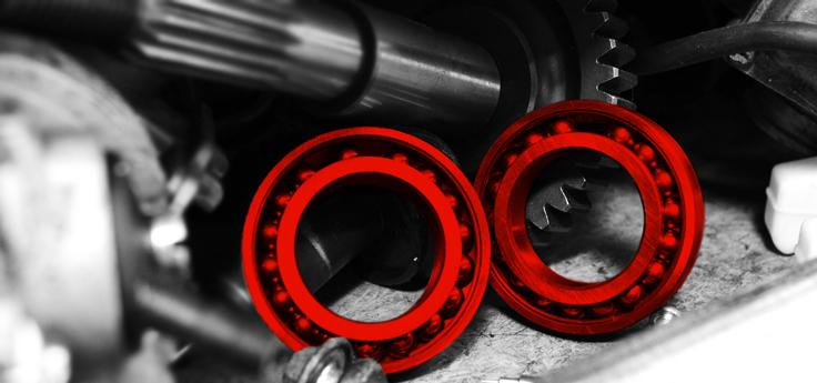 Diverse lagers / kogellagers / (olie) keerring