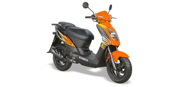 Onderdelen Kymco Agility 10' 4-takt sporty oranje