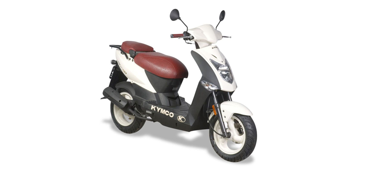 Onderdelen Kymco Agility Fat 12' 4-takt special wit
