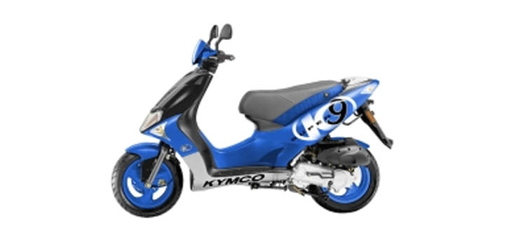 Onderdelen Kymco Super9 ac o.m Sportblauw