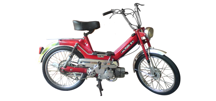 Puch Maxi cilinders & carburateurs