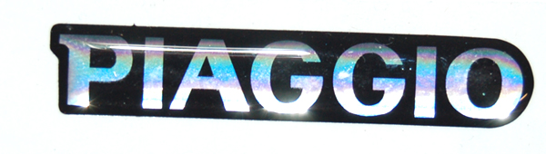 sticker piaggio woord [piaggio] voorscherm boven zip2000 piag orig 620944