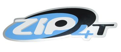 Sticker Piaggio Zip zijscherm origineel 672323