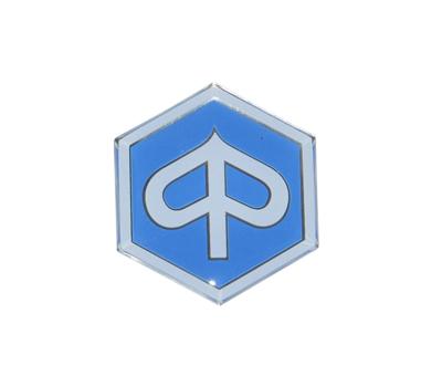 Sticker Piaggio logo voorscherm Piaggio Zip/Fly 4-takt origineel 655368 (nieuw model logo)