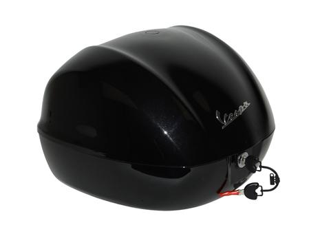 Topkoffer Vespa Primavera / Sprint vulcano zwart 98/a Piaggio origineel 1b0000160xn2
