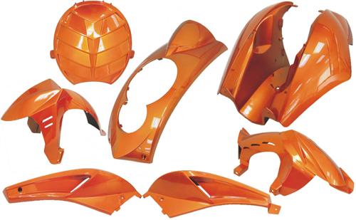 Kappenset special Peugeot Ludix Dmp 7 delig amber metallic =op=op