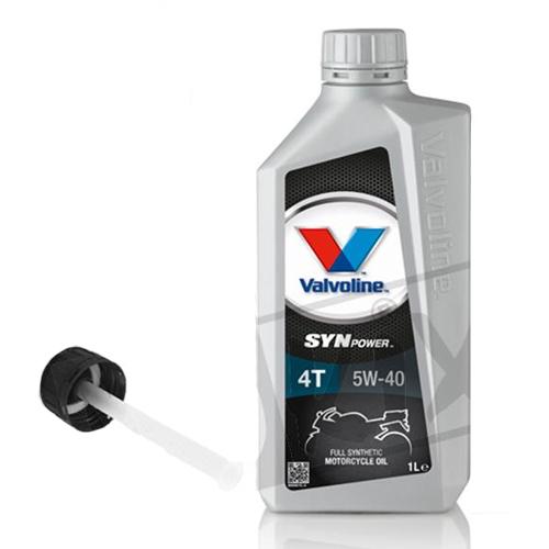 Smeermiddel olie Valvoline 5W40 1 liter (met vultuit)