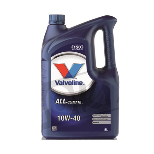 Valvoline olie 10W40 5-liter 4-takt (zoals 798401)