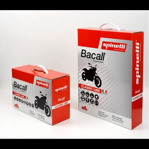 Beschermhoes Bogart-Spinelli scooter + windscherm + koffer