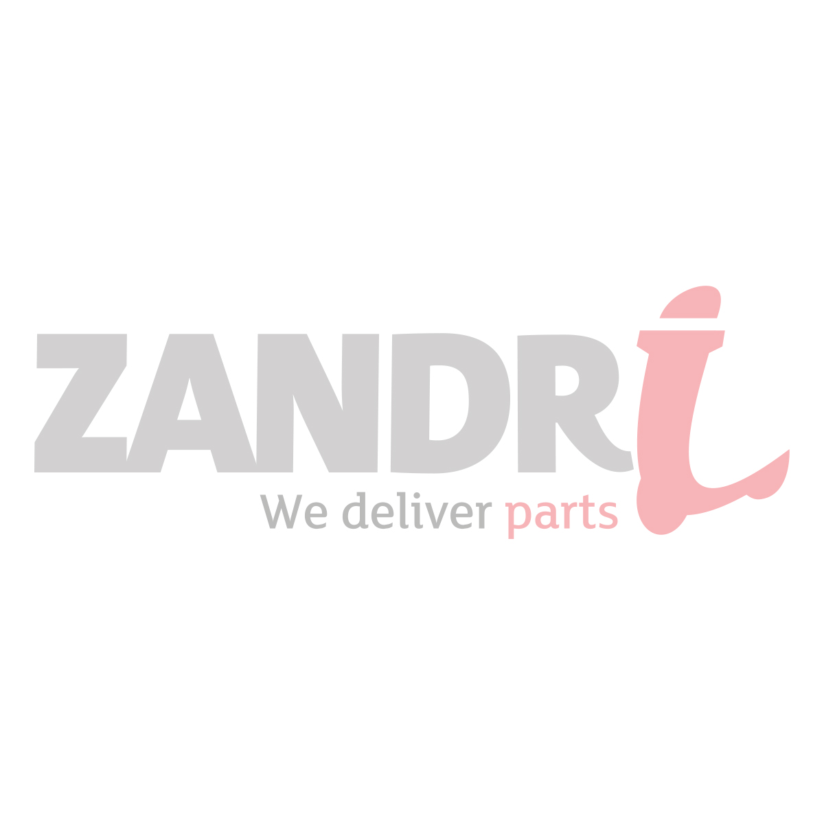 Voorspatbord stang Zundapp 517 (oud type)  chroom (2-delig) z517-19.902s/3s