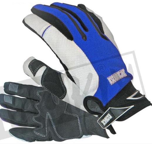 Handschoenen cross MKX blauw