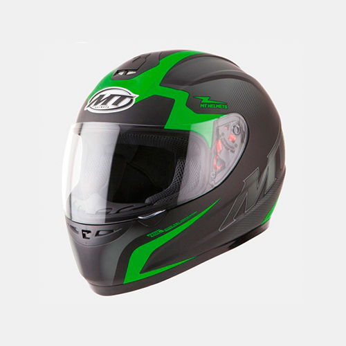 Helm integraal MT Thunder II Squad zwart/fluor groen