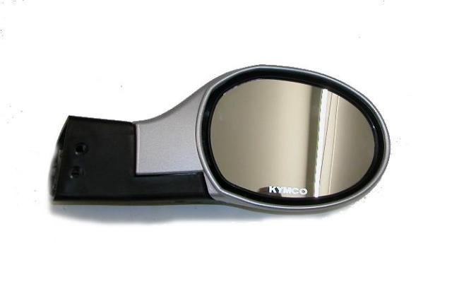 Spiegel Kymco Grand Dink rechts zilver
